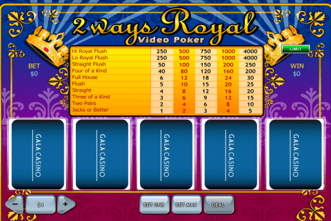 ways royal playtech