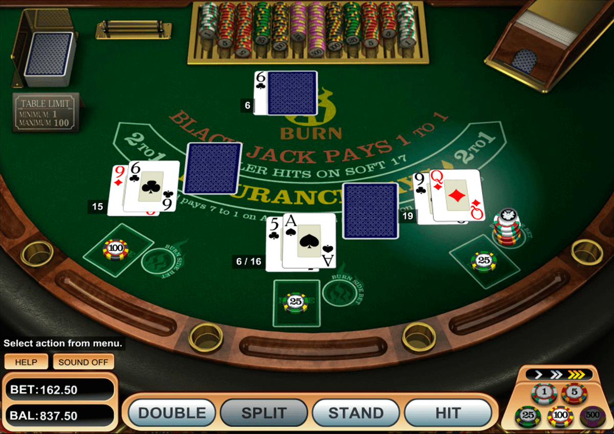burn blackjack betsoft