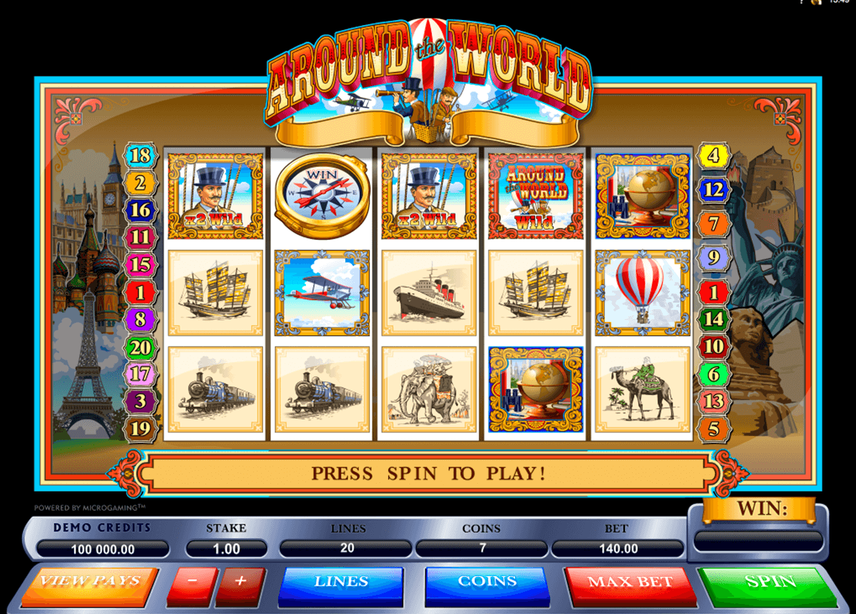 around the world microgaming
