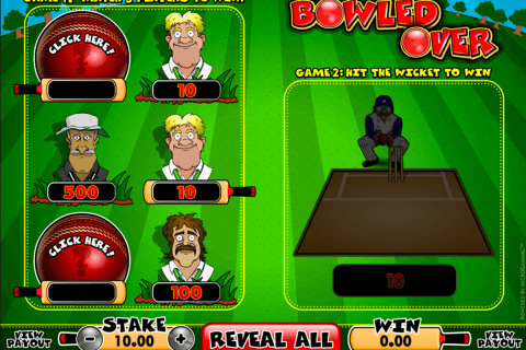 bowled over microgaming