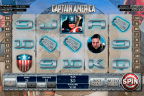 captain america playtech