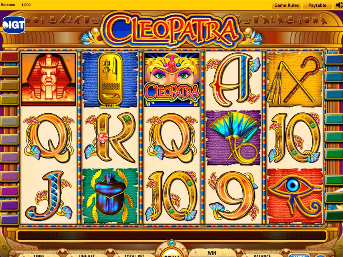 machine a sous gratuite sans telechargement cleopatra