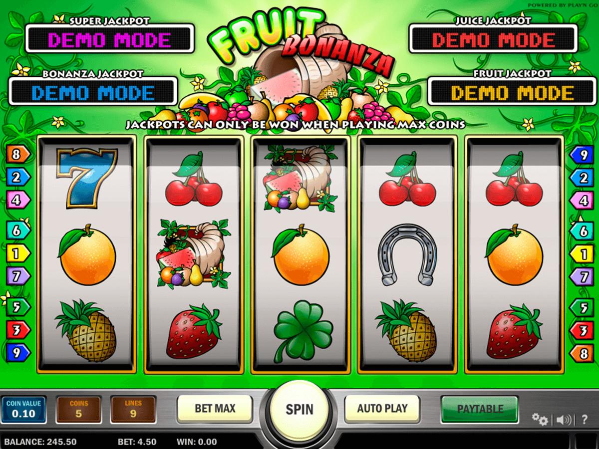fruit bonanza playn go