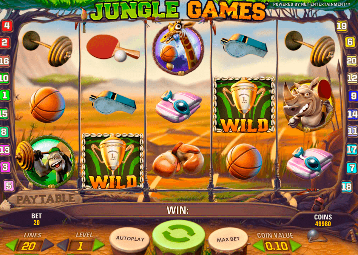 jungle games netent