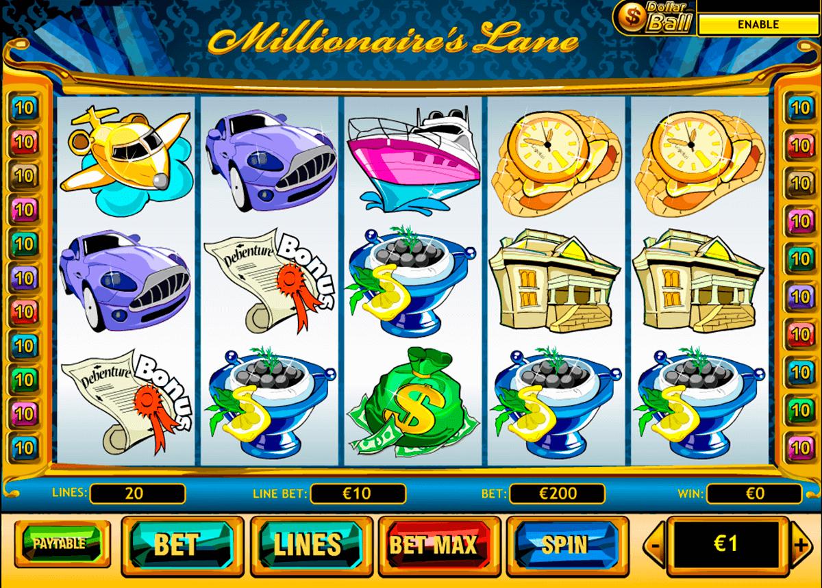 millionaires lane playtech