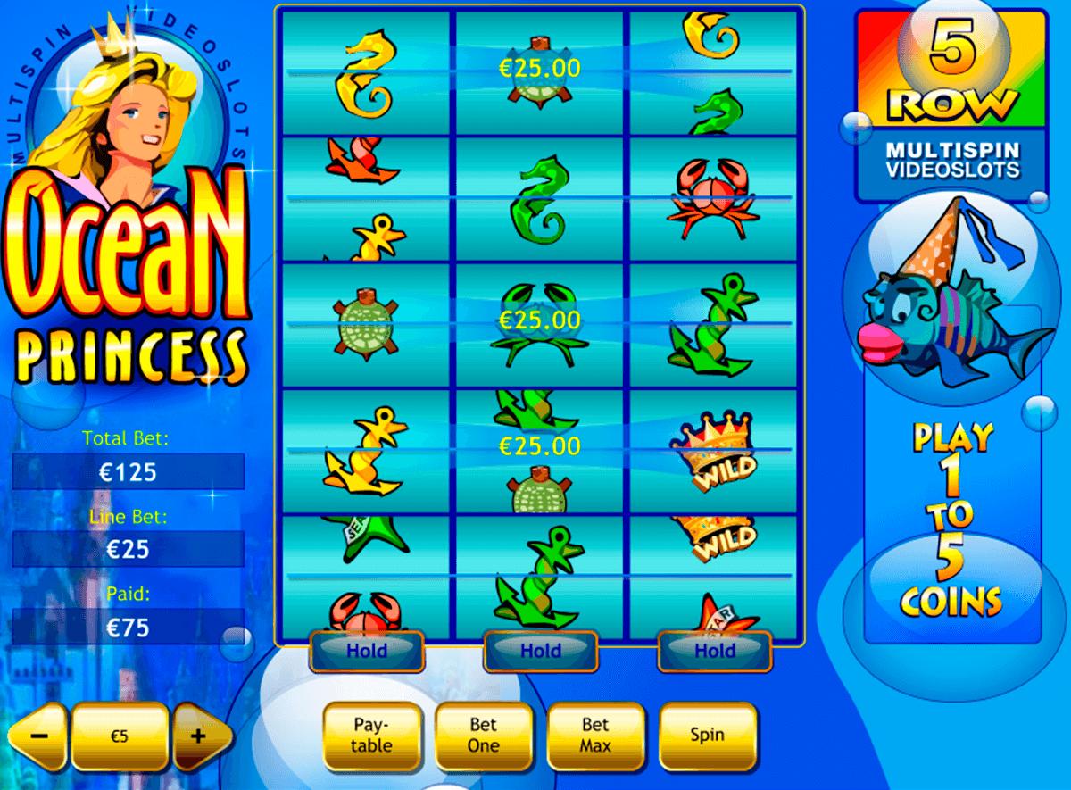 ocean princess playtech