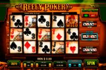 reely poker leander
