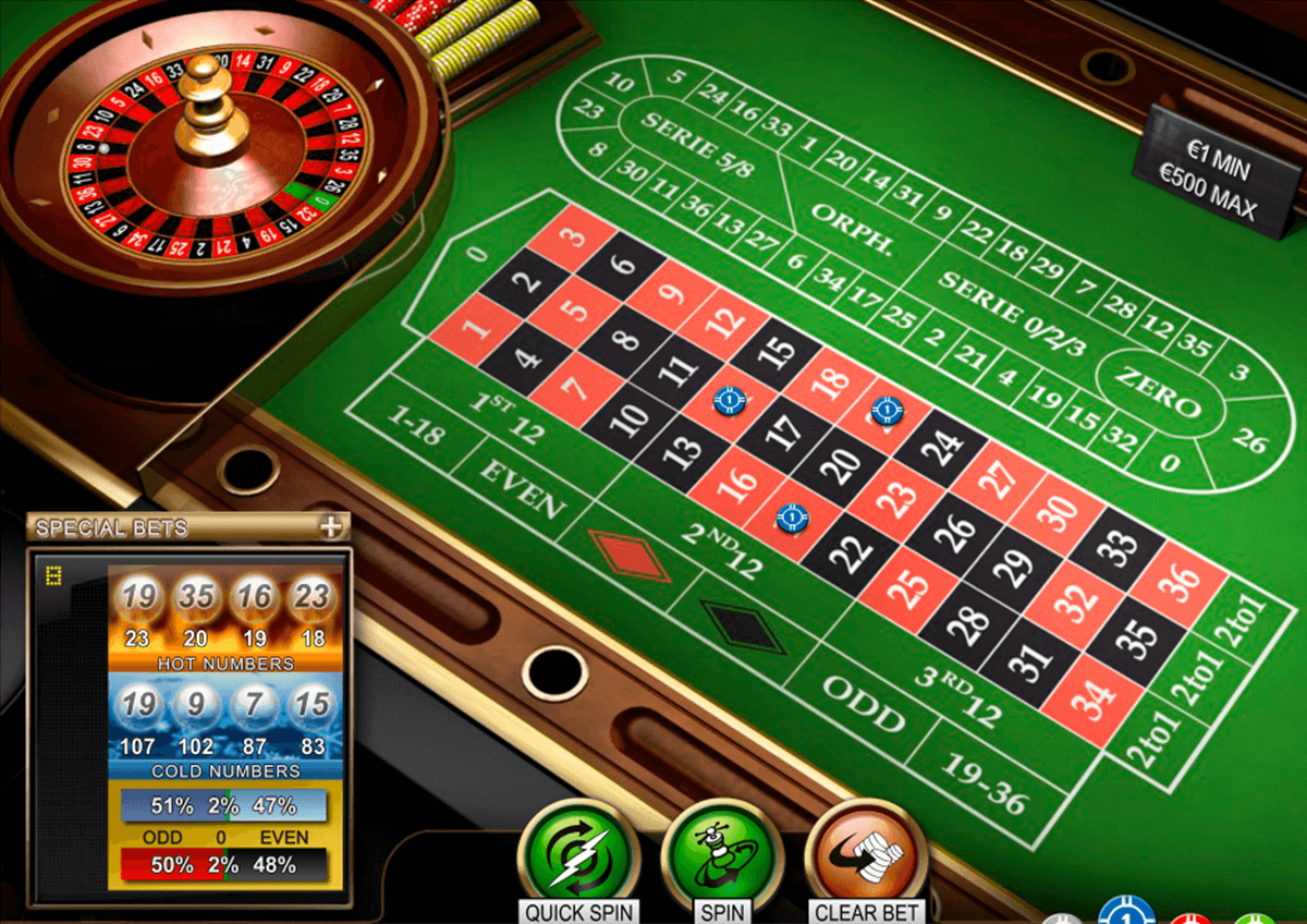 The French Roulette - Rizk Casino