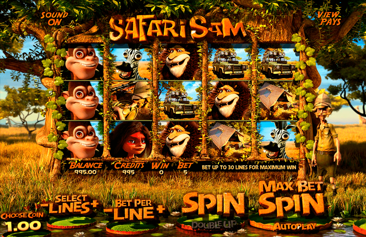safari sam betsoft